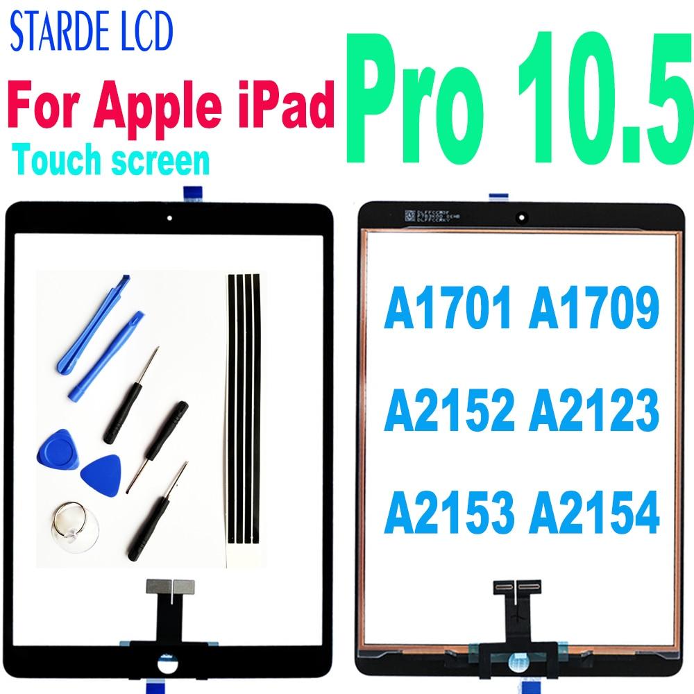 Оригинальный тачскрин, аналагово-для Apple iPad Pro 10,5 сенсорный Экран планшета Сенсор для iPad Pro 10,5 A1701 A1709 A2152 A2123 A2153 A2154 стекло