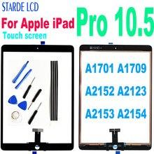 Toque original para apple ipad pro 10.5 toque digitador da tela sensor para ipad pro 10.5 a1701 a1709 a2152 a2123 a2153 a2154 vidro