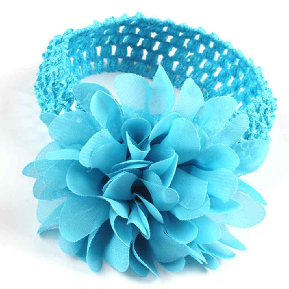 เด็ก Headband ดอกไม้หญิงริบบิ้นผมสำหรับทารกเด็กหญิง Headbands Turban เด็กแรกเกิด Haarband เด็กอุปกรณ์เสริมผม