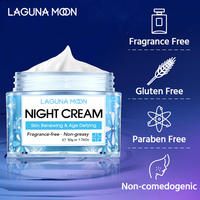 LAGUNAMOON Face Cream Skin Renewing Night Cream For Face Peptide Complex Hyaluronic Acid Hyaluronic Face Moisturizer For Women 2