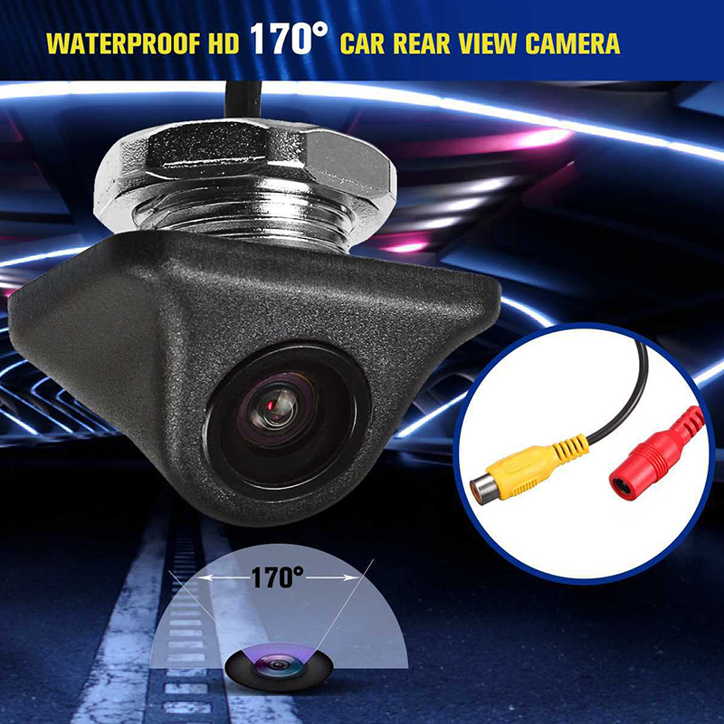 lowest price Smartour car reversing backup camera 1000L CCD HD 180 degree Fisheye Lens Rear Front view wide angle night vision parking assist