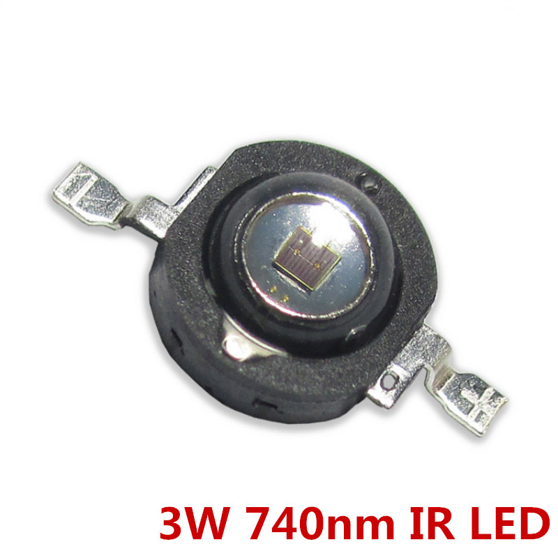 High-power 3w 5W 740nm 365nm 395nm Wavelength LED Lamp Beads Medical Monitoring Equipment With Infrared Emission Diodes