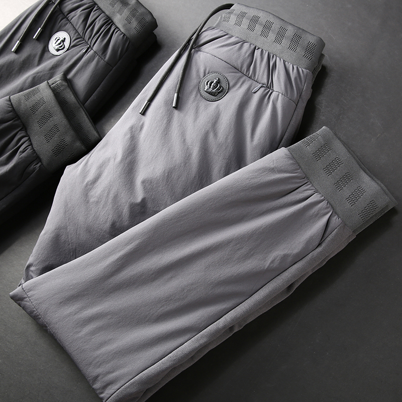 JSBD Cotton Pants Men Wear Winter High Waist Outdoor Warm Pants Men Thick Lint Cotton Pants Casual Pants