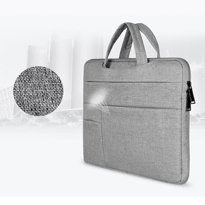 Image 2 - OGmeas Laptop Sleeve Bag for Macbook Air 13 Case Nylon Laptop Case 15.6 11 14 15 inch Bags for Men Women  Zipper Unisex Backpack