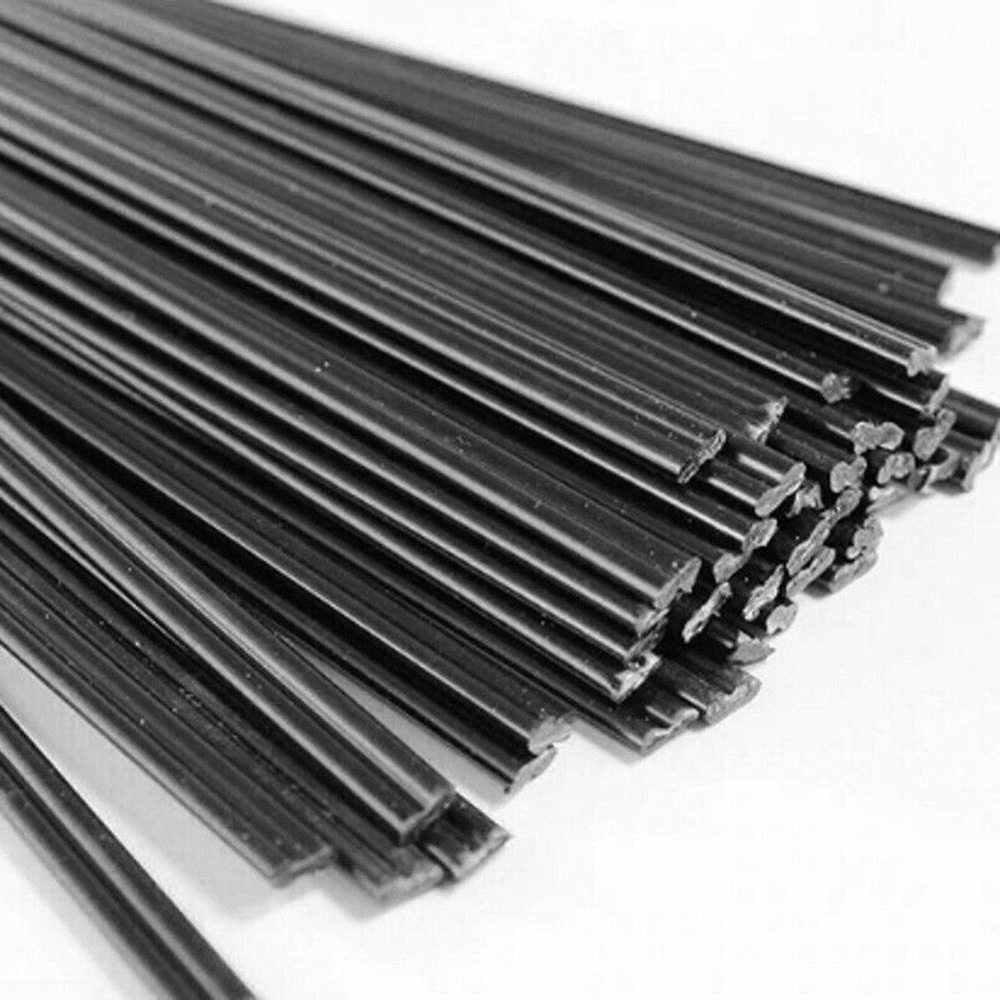 50 stücke 2,5mm * 5mm Kunststoff Schweißer Heißer Gun Löten Schweißen Stangen Stoßstange Reparatur Auto Tool Kit