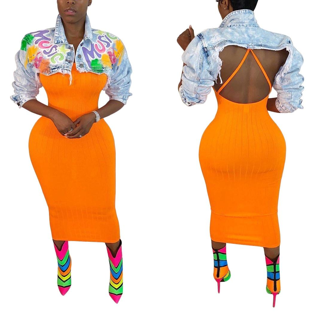 Купить женское повседневное джинсовое пальто echoine разноцветное с