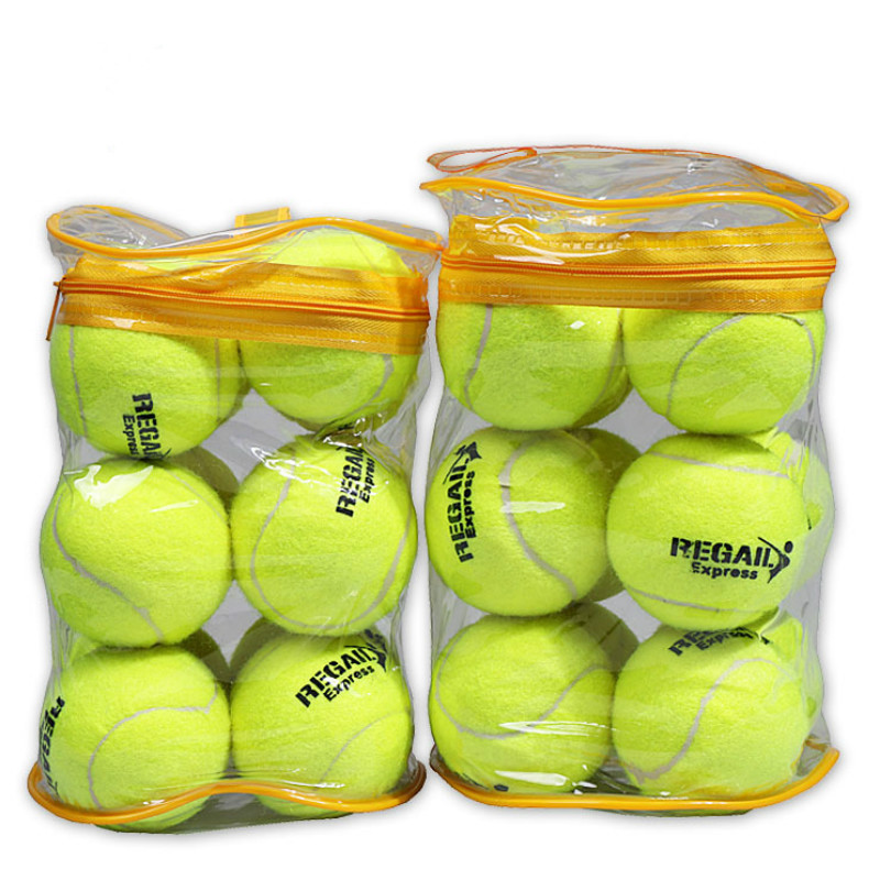 12 Bags Of Advanced Training Tennis Practice PE High Elastic Rubber Material Outdoor Sports Straight Tennis Bag
