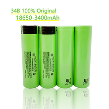 10/20/30/40/60/80/pcs 100% New 3400mAh Original NCR18650B 3.7v 3400 mAh 18650 Lithium Rechargeable Battery Flashlight batteries