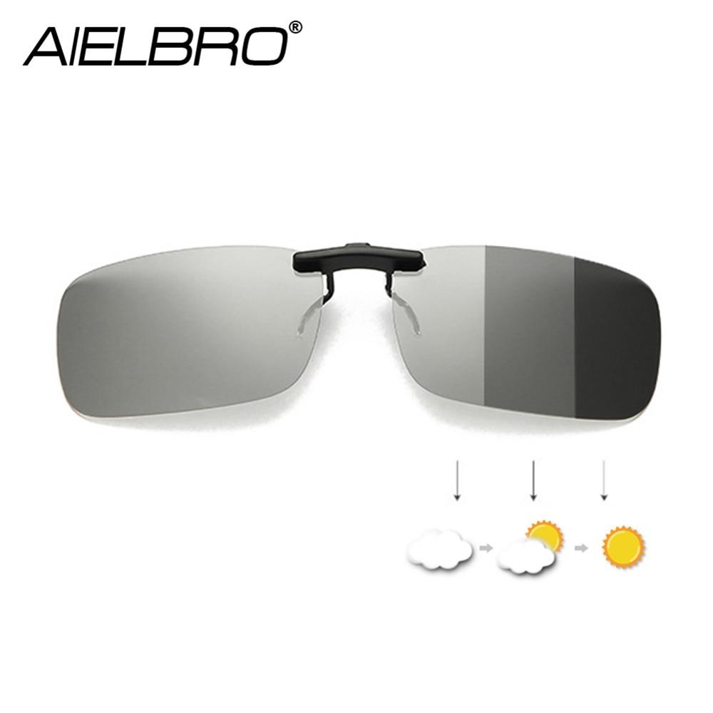 Clip On Glasses Hiking Driving Cycling Prescription Glasses Women Photochromic Sunglasses Men Sunglasses Clips
