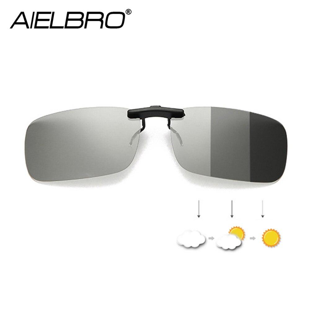 Clip On Polarized Hiking Driving Cycling Prescription Glasses Women Photochromic Sunglasses Men Sunglasses Clips For Myopic
