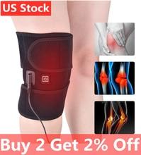купить Infrared Heating Knee Brace Arthritis Knee Brace Support Massager Belt Injury Cramps Hot Therapy Pain Relief Knee Rehabilitation онлайн