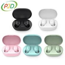 PJD A6S tws bezprzewodowe słuchawki Bluetooth sportowe wodoodporne słuchawki słuchawki z redukcją szumów słuchawki stereofoniczne dla Xiaomi Redmi