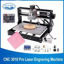 CNC 3018 Pro 10w/15w Laser bricolage Mini Machine à CNC avec contrôleur hors ligne 3 axes fraiseuse GRBL contrôle ER11 Laser graveur