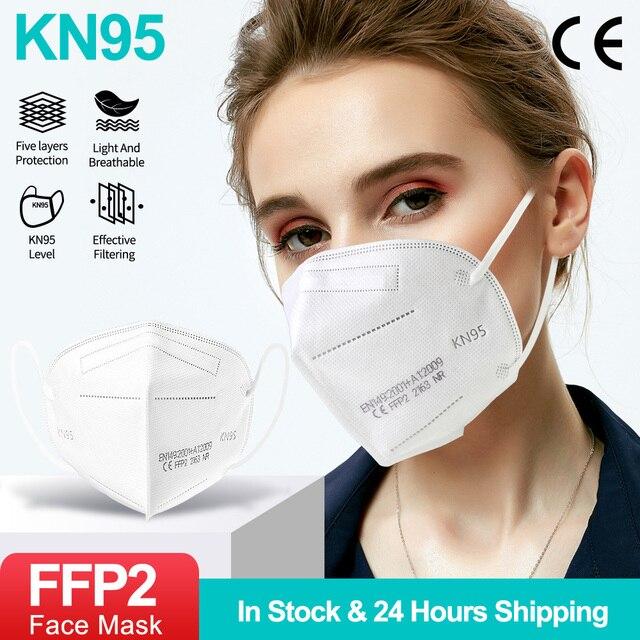 KN95 - 5 Layers Filter Reusable Face Mask  3