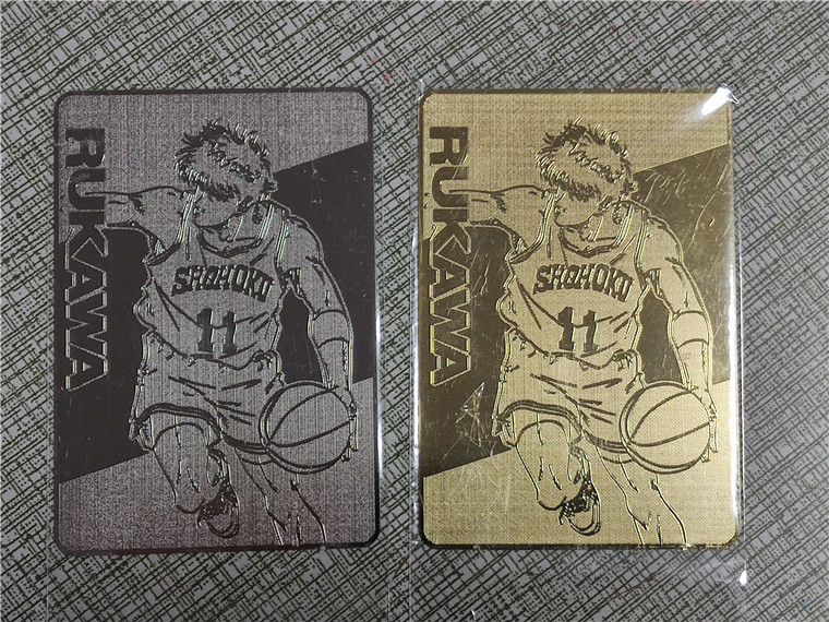 SLAM DUNK Gold Silver Toys Hobbies Hobby Collectibles Game Collection Anime Cards