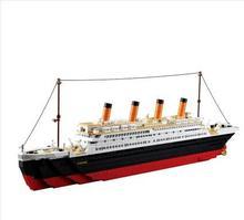 Ship Model Making Kit, City Cruise Ship, Children's Educational Model Making Toys, Hobby Building Blocks assembled ship 14214 color separation model titanic model ship