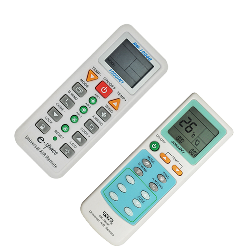 New 1pcs Multi-Function Air Conditioner Remote Control Switch Universal Switch K-1028E RM-1000B RM-3000C With English Manual