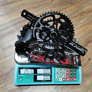 Image 3 - Sensah Rijk + Zrace Crank Rem Cassette Keten, 2X11 Speed, 22S Road Groepset, voor Road Bike Fiets 5800, R7000