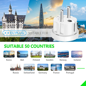 Image 5 - Travel EU plug Converter Adapter 250V AC Travel Charger Wall Power Plug Socket With Home Adapter