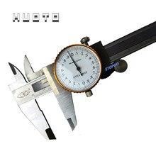 Zifferblatt Edelstahl Metall Messschieber Zifferblatt Sattel 0,02mm Shock Proof 150 mm Sattel Mikrometer Gauge Messung mikrometr
