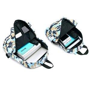 Image 5 - New Camouflage Children School Bags Backpacks Lighten Burden On Shoulder For Kids Kindergarten Backpack Mochila Infantil 2 sizes