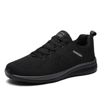 Breathable Running Shoes for Men Outdoor Sport Running Shoes Women Genuine Leather Sneakers Light Casual Anti-skid Walking Shoes 14