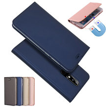 Magnetic absorption Leather Flip Case Cases Cover For Nokia 3 5 6 8 Sirocco 7 1 2 2.1 6 X5 X6 X7 2018 5.1 3.1 6.1 7.1 8.1 Plus(China)