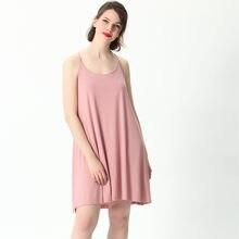 Fdfklak 2XL-7XL Plus rozmiar koszula nocna dla kobiet bielizna nocna lato luźna chusta seksowna piżama Nighty dla pań sukienka do spania