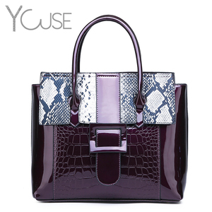 YOUSE Sac A Main Femme Patent