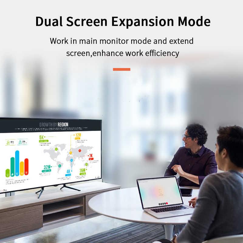 كابل ديسبلايبورت من Cabletime كابل ذكر إلى DP 4k 60hz DP 1.2 كابل 2 متر 3 متر DP فيديو عرض الصوت كابل المنفذ ل HDTV العارض PC N079