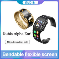 Nubia Alpha-reloj inteligente Original, pulsera con pantalla OLED de 8909W, 1GB de RAM, 8GB de rom, 500mAh, Nubia Alpha