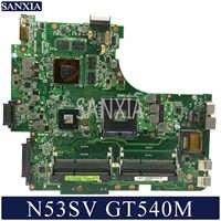 KEFU N53SV Laptop motherboard für ASUS N53SV N53SN N53SM original mainboard GT540M-1GB