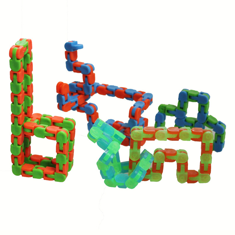 Toy Fidget-Toys Autism Wacky Tracks ADHD Finger-Sensory Adults Stress-Relief Click And img3