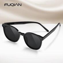 Fuqian модные негабаритные поляризованные солнцезащитные очки