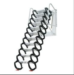 Huishoudelijke Tool Set Outdoor Muur Opknoping Intrekbare Trap Handleiding Vouwladder Draagbare Telescopische Trap 2.5-3M