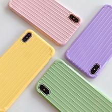 Чехол-багажник для телефона iPhone 11 12 6 7 8 Plus X XR Xiaomi Mi 8 Lite 9 CC9 CC9E A2 A3 Redmi K20 6 6A Note 5 7 Pro, мягкий чехол из ТПУ