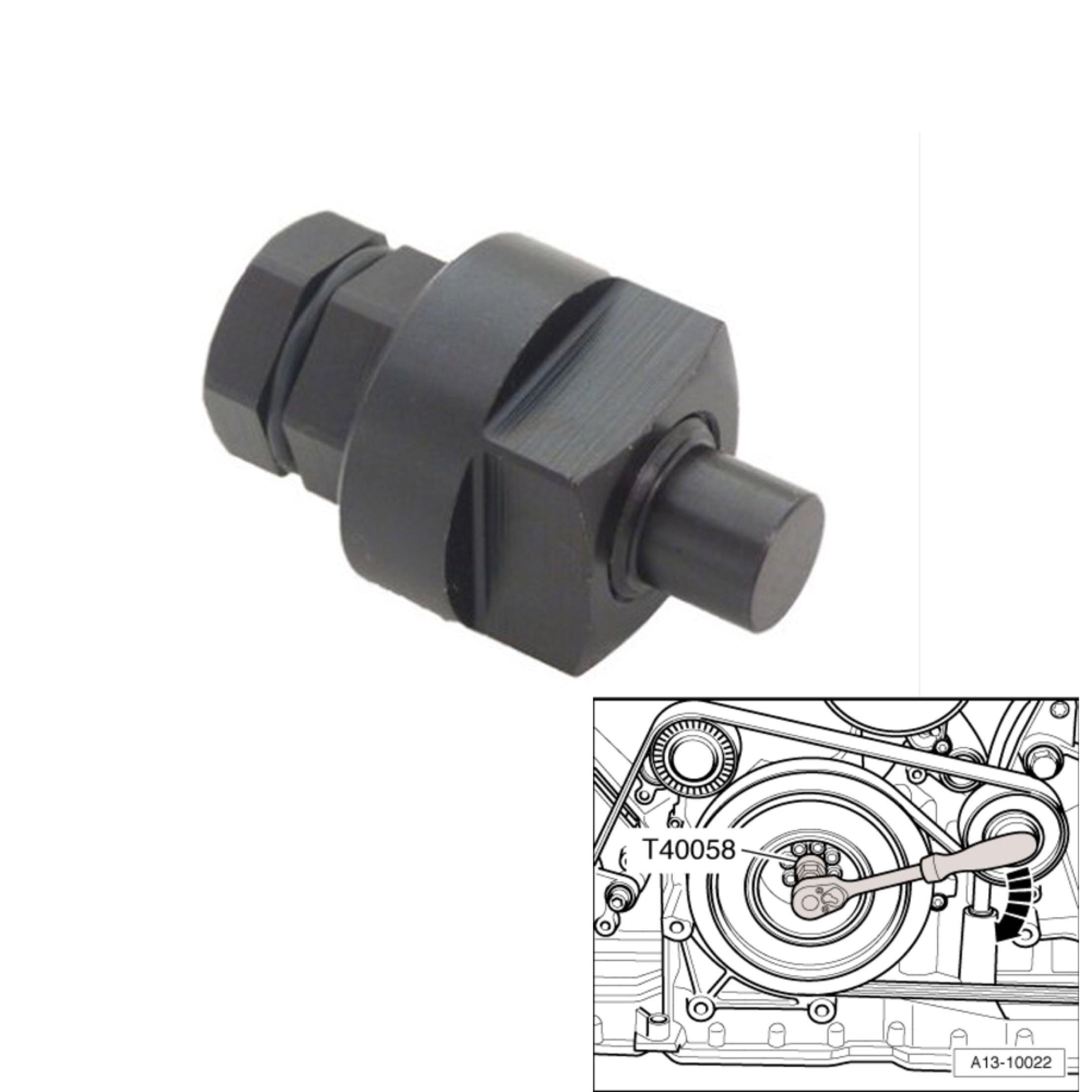 T40058 for Volkswagen Touareg Phaeton Audi A6 A8 A7 crankshaft rotation adjustment sleeve repair tim