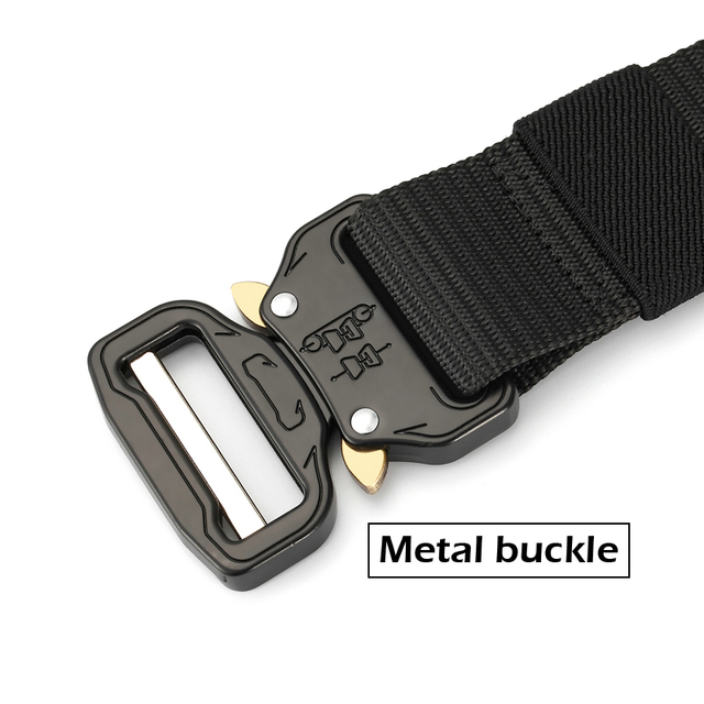 New Nylon Molle Military SWAT Combat Knock Off Emergency Survival Belt Tactical Gear 2