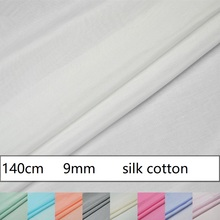 9mm Solid Color Mulberry Silk Silk Cotton Clothing Lining Dress Bottom Lining Fabric