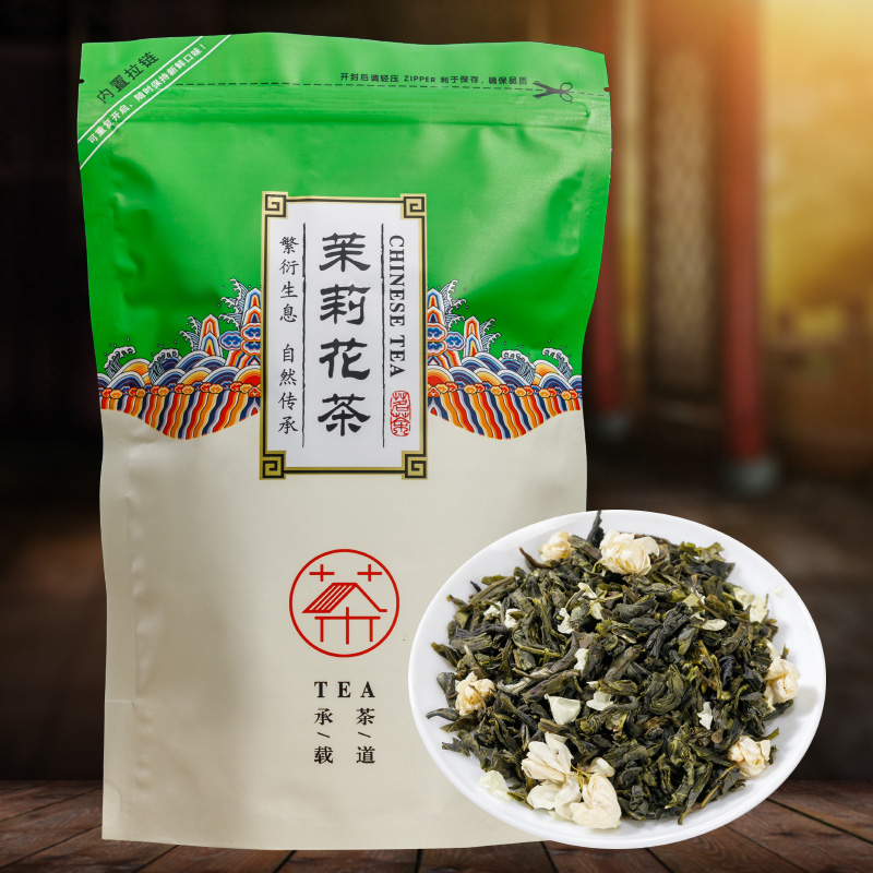 China Fujian Jasmine Flower Tea Green Tea Real Organic New Early Spring Jasmine Tea For Weight Loss Green Food Health Care
