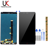 Moble Phone LCDs For ZTE Nubia Z11 Max LCD Display Digitizer Touch Screen Assembly Panel Digital Replacement