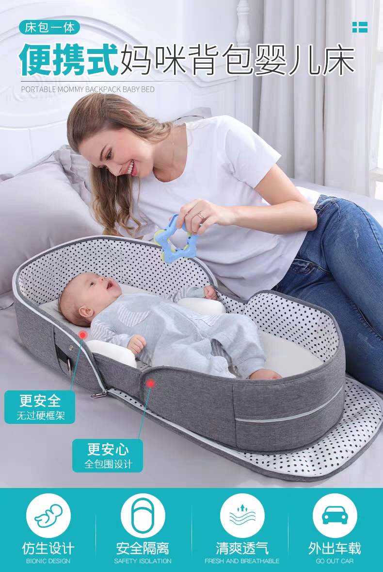 Portable Foldable Anti-Pressure Artifact Crib