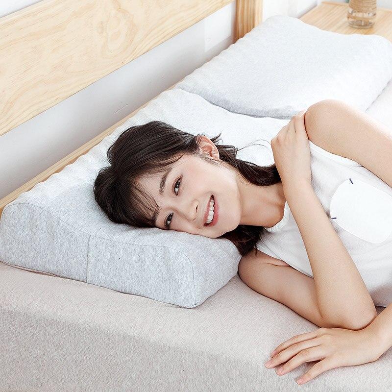 Original Xiaomi mi jia almohada protectora de látex Natural para el cuello S 65D almohada de látex para el cuidado de los niños y adultos almohada de cuello para uso en el hogar - 4