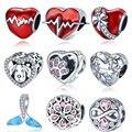 Весна 2020 новые серебряные бусины 925 пробы Мулан мушу амулеты подходят оригинальный Pandora Браслеты для женщин DIY Ювелирные изделия CMS2011