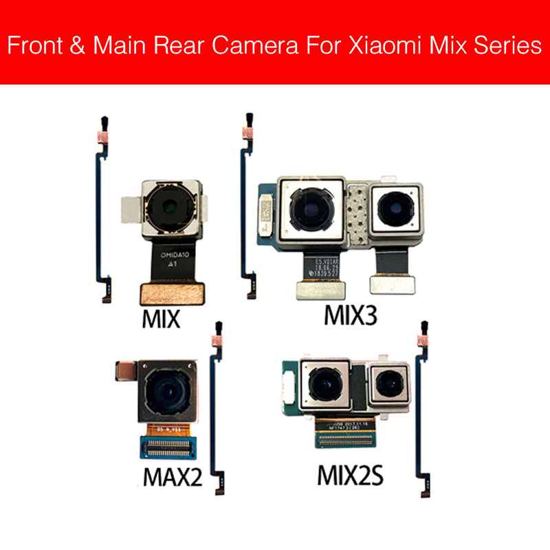 Rear Camera Flex Cable For Xiaomi Mi Mix 2 2S 3 Evo Mix2 Back Big Facing Camera Main Camera Module Replacement Repair Parts