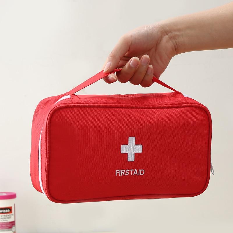 Пустая медицинская сумка большой емкости для оказания первой помощи, набор для дома, офиса, школы, кемпинга, путешествий, спасательных опера...