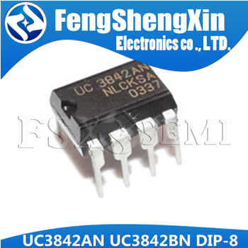 10pcs/lot UC3842AN DIP8 UC3842 UC3842BN DIP 3842AN DIP-8 UC3842A UC3842B PWM Controller IC - sale item Active Components
