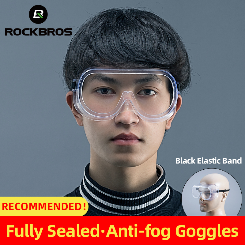 ROCKBROS Anti-fog Cycling Glasses Fully Sealed Professional Protective Goggle HD Dust-proof Men Women Sports Protection Goggles
