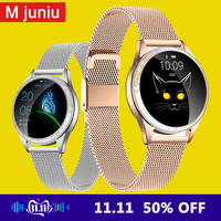 Women Smart Watch Bluetooth Full Screen Smartwatch Heart Rate Monitor Sports Watch for IOS Andriod KW20