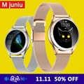 Mulher relógio inteligente bluetooth tela cheia smartwatch monitor de freqüência cardíaca relógio esportivo para ios andriod kw20